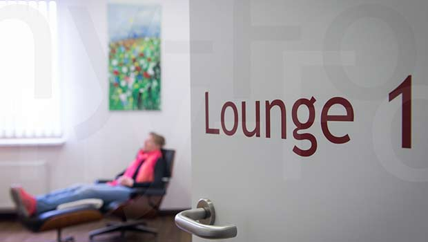 Entspannung in den Lounges | Check-Up